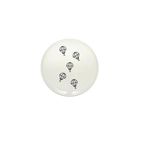 'Skydive' Mini Button (10 pack)