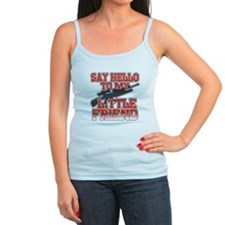 Say Hello To My Little Friend Ladies Top