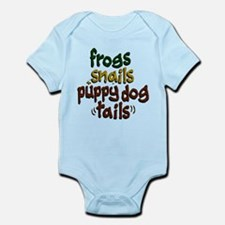 Frog Snails Puppydog Tails Infant Bodysuit