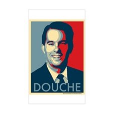 Scott Walker is a Douchebag Decal