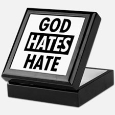 God Hates Hate Keepsake Box