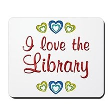 Love the Library Mousepad