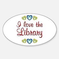 Love the Library Decal