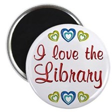 Love the Library Magnet