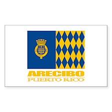 Arecibo Flag Decal