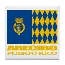 Arecibo Flag Tile Coaster