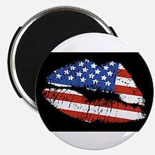"American Kiss 2.25"" Magnet (100 pack)"