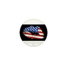 American Kiss Mini Button (10 pack)