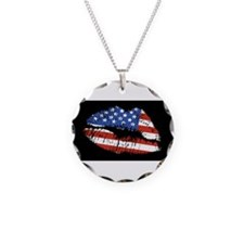 American Kiss Necklace