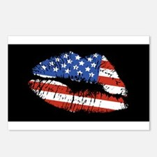 American Kiss Postcards (Package of 8)