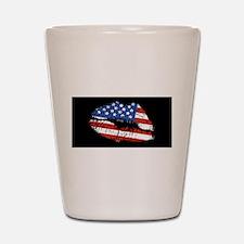 American Kiss Shot Glass