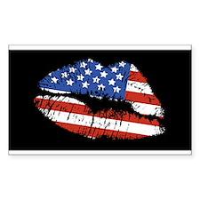 American Kiss Decal