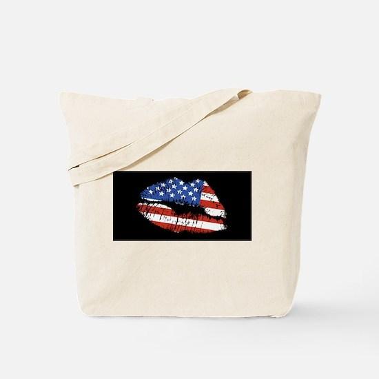American Kiss Tote Bag
