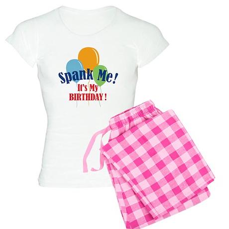 Spank Me Birthday Women's Light Pajamas