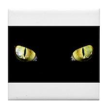 Cat Eyes Tile Coaster
