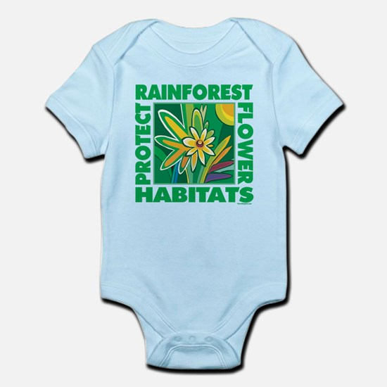 Preserve Forest Habitats Infant Bodysuit