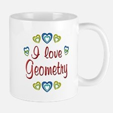 I Love Geometry Mug