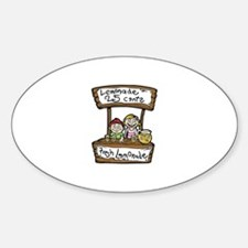Cute 25 cents Sticker (Oval)