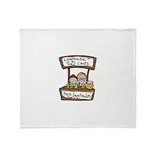 Cute 25 cents Throw Blanket