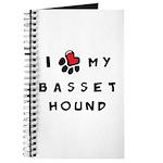 I *heart* My Basset Hound Journal