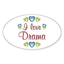 I Love Drama Decal