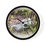 Weathered Skull Wall Clock