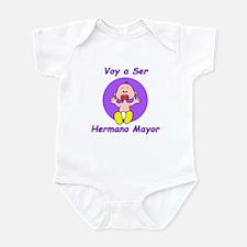 Voy a Ser Hermano Mayor Infant Creeper