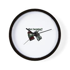 Got Bombs? Wall Clock
