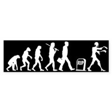 Zombie Evolution - Bumper Bumper Sticker