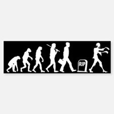 Zombie Evolution - Bumper Bumper Sticker