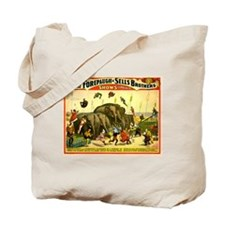Terrific Flights Over Ponderous Elephants Tote Bag