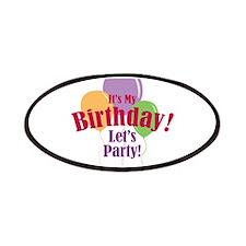 Happy Birthday Balloons Patches