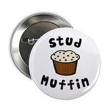 "'Stud Muffin' 2.25"" Button"