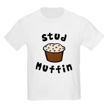 'Stud Muffin' Kids Light T-Shirt