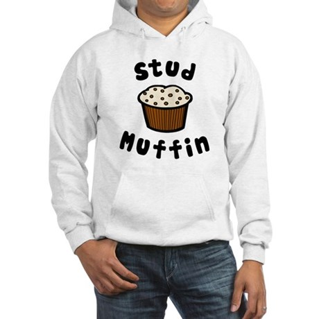 'Stud Muffin' Hooded Sweatshirt