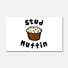 'Stud Muffin' Car Magnet 20 x 12