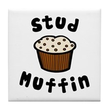 'Stud Muffin' Tile Coaster