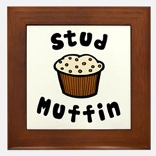 'Stud Muffin' Framed Tile