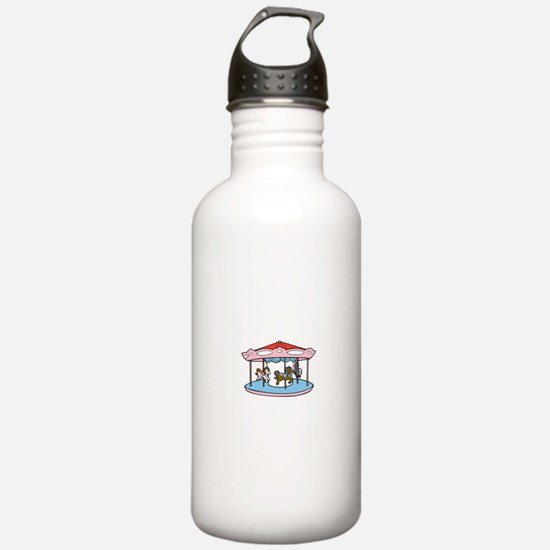 Cute Merry go round Water Bottle