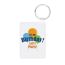 Birthday Party Balloons Keychains
