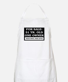For Sale 51 Year Old Apron