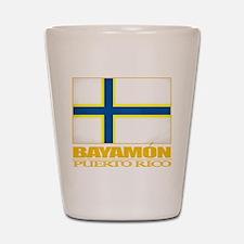 Bayamon Flag Shot Glass