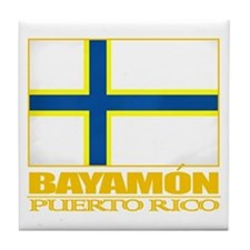 Bayamon Flag Tile Coaster
