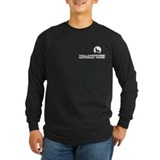 Howling wolf Long Sleeve T-shirts (Dark)