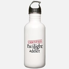 Certified Twilight Addict Water Bottle