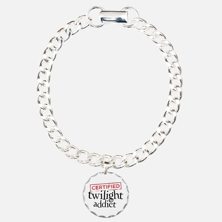 Certified Twilight Addict Bracelet