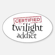 Certified Twilight Addict Decal