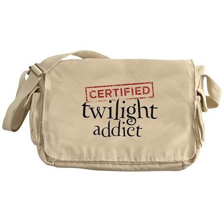 Certified Twilight Addict Messenger Bag