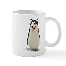 Malamute Penguin Mug
