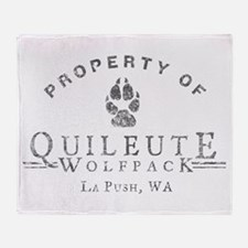 Property of Quileute Throw Blanket